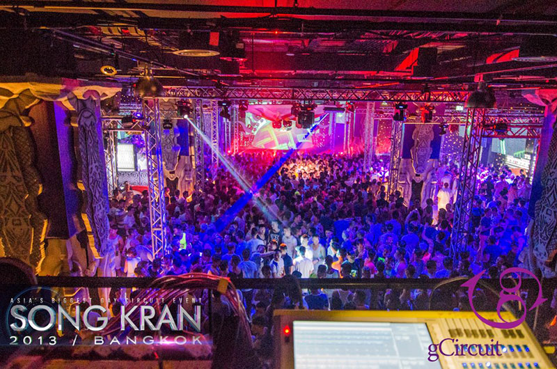 GCIRCUIT'S EXOTICA OPENING PARTY, SONG KRAN 2013